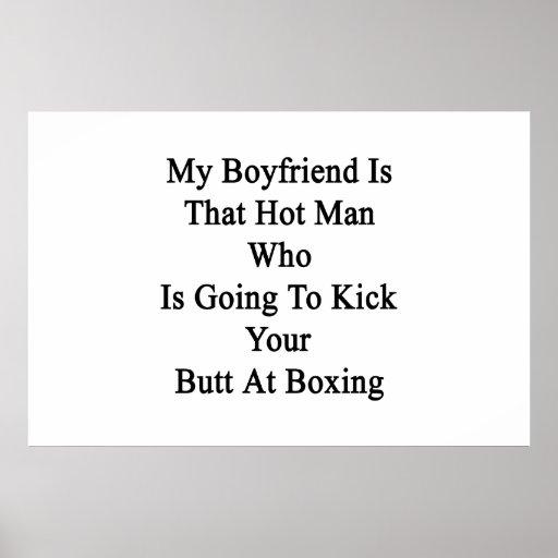 Mi novio es ese hombre caliente que va a golpear c posters