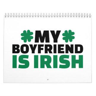 Mi novio es irlandés St Patrick Calendarios