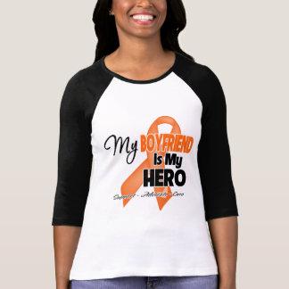 Mi novio es mi héroe - leucemia camiseta