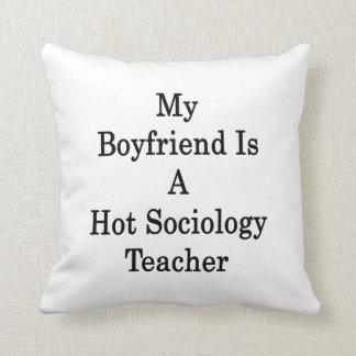 Mi novio es profesor caliente de la sociología almohada