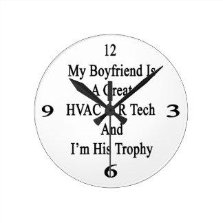 Mi novio es una gran tecnología de la HVAC R y soy Reloj