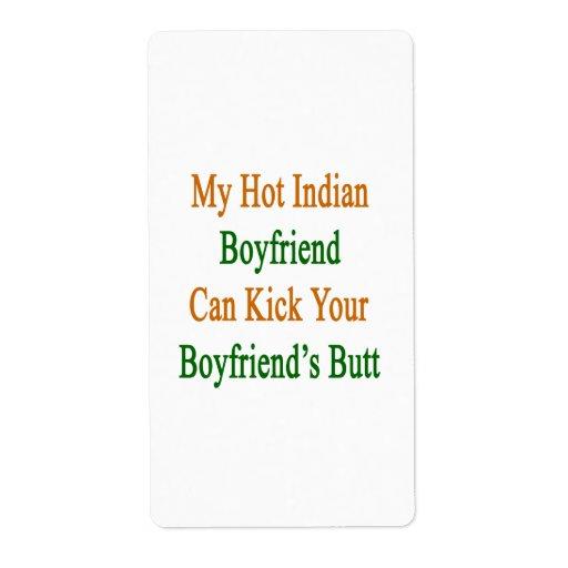 Mi novio indio caliente puede golpear a su novio c etiquetas de envío