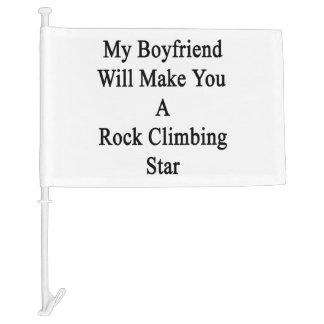 Mi novio le hará una estrella de la escalada