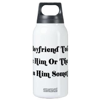 Mi novio me dijo elegir entre él o botella isotérmica de agua