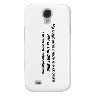 Mi novio me dijo elegir lo o la suciedad Bik Funda Para Galaxy S4