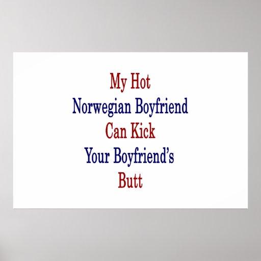 Mi novio noruego caliente puede golpear a su novio posters