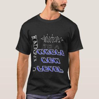 Mi nueva camiseta llana [de encargo]
