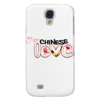 Mi nuevo amor chino funda para galaxy s4