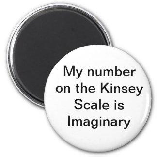 Mi número en la escala de Kinsey es imán imaginari