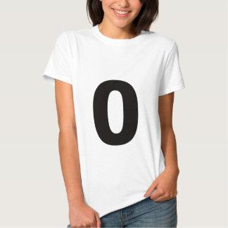 ¡Mi número es 0! Polera