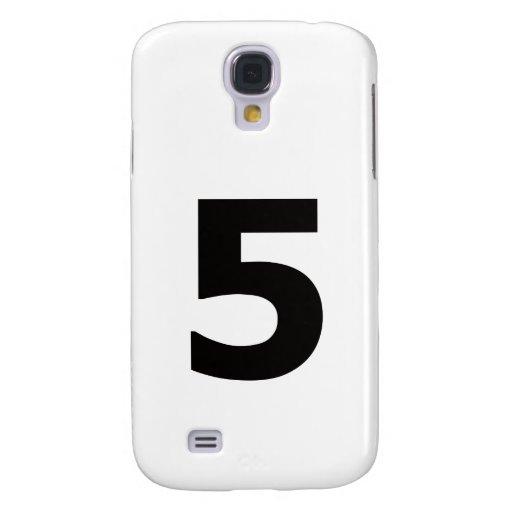 ¡Mi número es 5! Funda Para Galaxy S4
