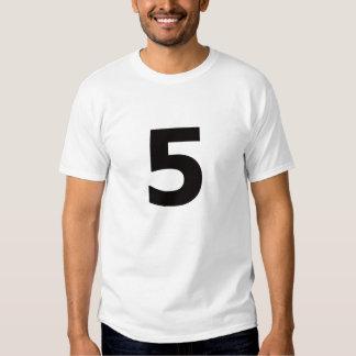 ¡Mi número es 5! Polera