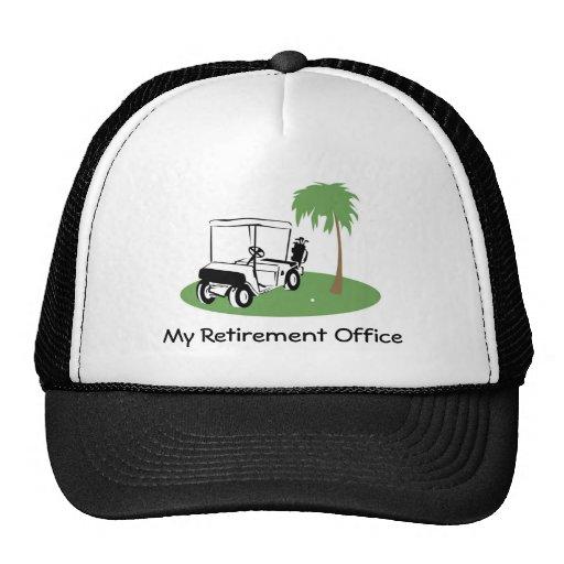 Mi oficina del retiro gorras