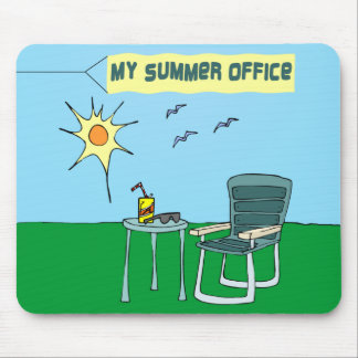 Mi oficina Mousepad del verano
