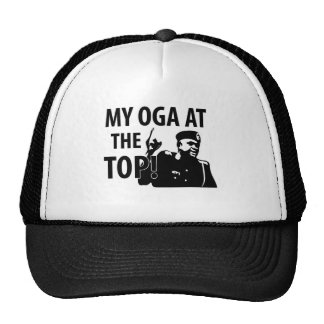 Mi Oga en el top Gorras