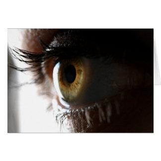 mi ojo tarjeta de felicitación