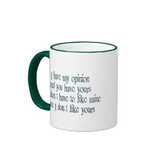 Mi opinión tazas de café
