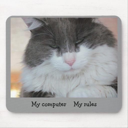 Mi ordenador mis reglas tapete de raton