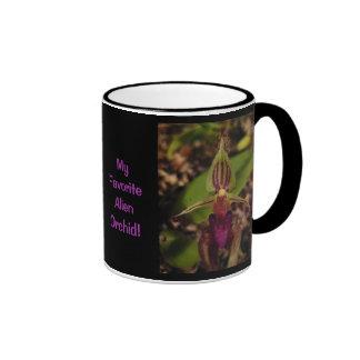 ¡Mi orquídea extranjera preferida! Tazas