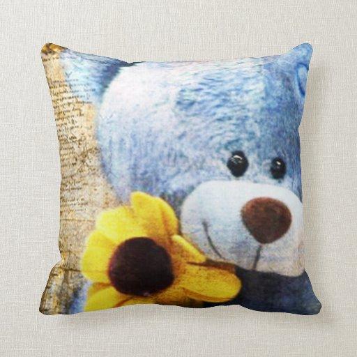 Mi oso de peluche almohadas