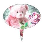Mi oso de peluche figuras de tarta