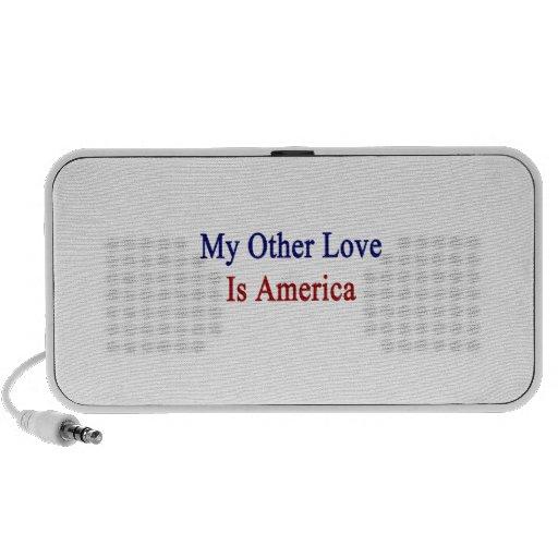 Mi otro amor es América iPhone Altavoces