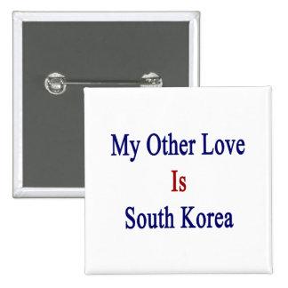 Mi otro amor es Corea del Sur Pins