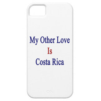 Mi otro amor es Costa Rica iPhone 5 Case-Mate Cárcasa