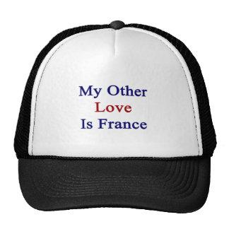 Mi otro amor es Francia Gorra