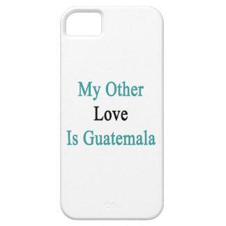 Mi otro amor es Guatemala iPhone 5 Case-Mate Fundas