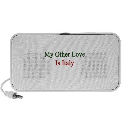 Mi otro amor es Italia iPod Altavoz