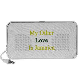 Mi otro amor es Jamaica Notebook Altavoz