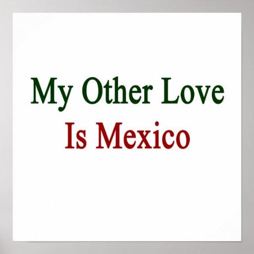 Mi otro amor es México Posters
