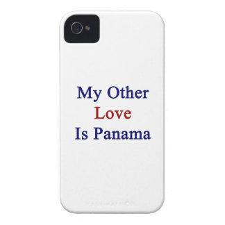 Mi otro amor es Panamá Case-Mate iPhone 4 Cárcasa