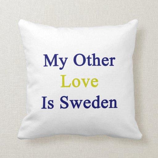 Mi otro amor es Suecia Almohadas