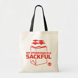 Mi otro bolso es un Sackful Bolsas