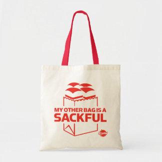 Mi otro bolso es un Sackful Bolsa Tela Barata