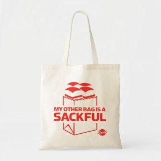 Mi otro bolso es un Sackful Bolsa