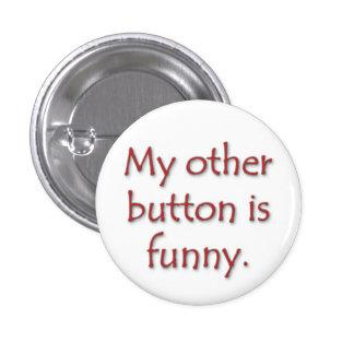 Mi otro botón es divertido pin