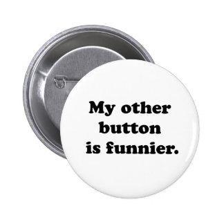 Mi otro botón pin redondo de 2 pulgadas