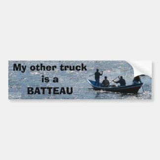 Mi otro camión es un BATTEAU Pegatina Para Auto