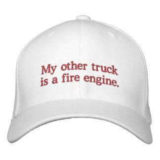 Mi otro camión es un coche de bomberos gorra de beisbol