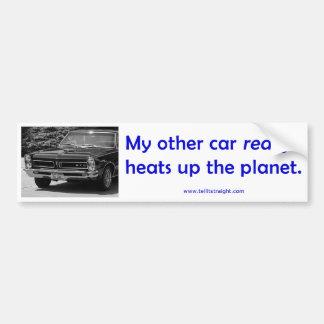 Mi otro coche (65 GTO) Pegatina Para Auto
