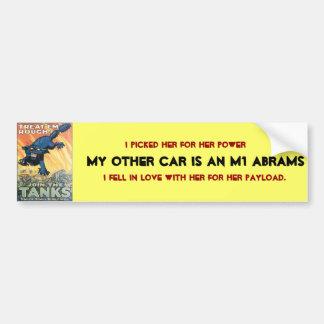Mi otro coche es etiqueta de parachoque