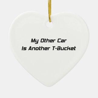 Mi otro coche es otros regalos de Tbucket Tbucket Adorno Navideño De Cerámica En Forma De Corazón