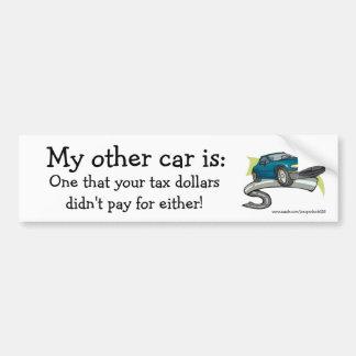 Mi otro coche es: pegatina para auto