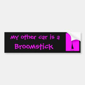 Mi otro coche es pegatina para el parachoques del  etiqueta de parachoque
