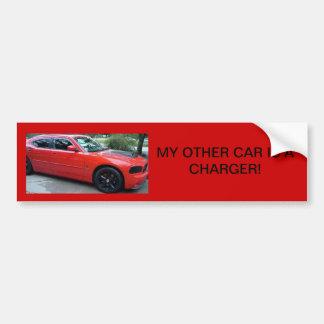 Mi otro coche es pegatina para el parachoques del  pegatina para auto