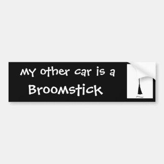 Mi otro coche es pegatina para el parachoques del  pegatina de parachoque