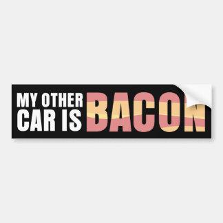Mi otro coche es tocino etiqueta de parachoque